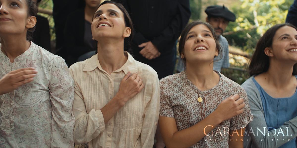 Sortie du film sur Garabandal : Dieu seul le sait  En%20éxtasis%20se%20santiguan
