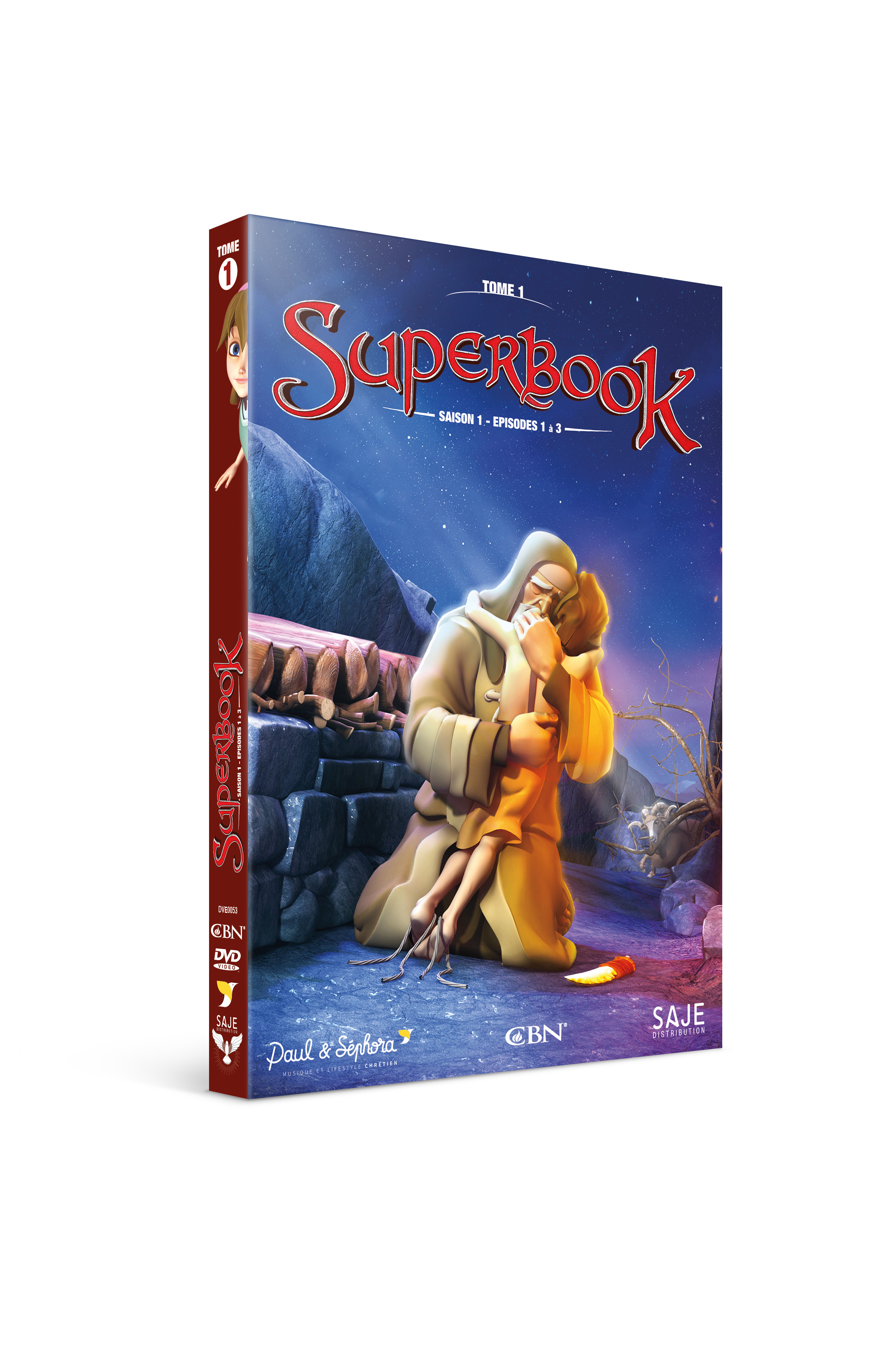 Affiche du film Superbook Tome 1